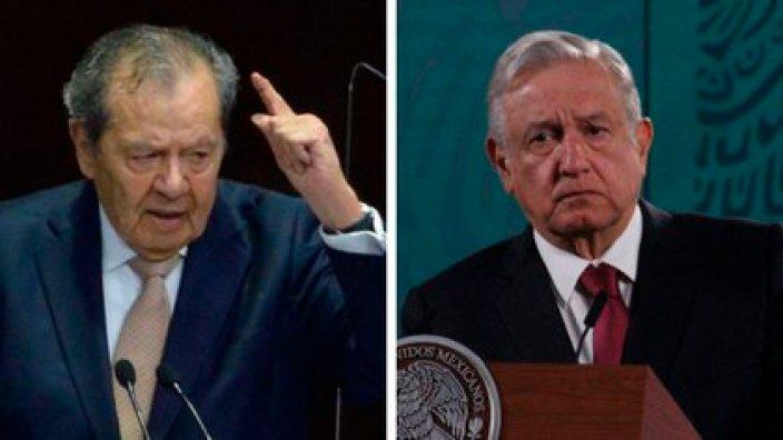 Porfirio Muñoz Ledo comparó a AMLO con Hitler (Foto: Cuartoscuro)