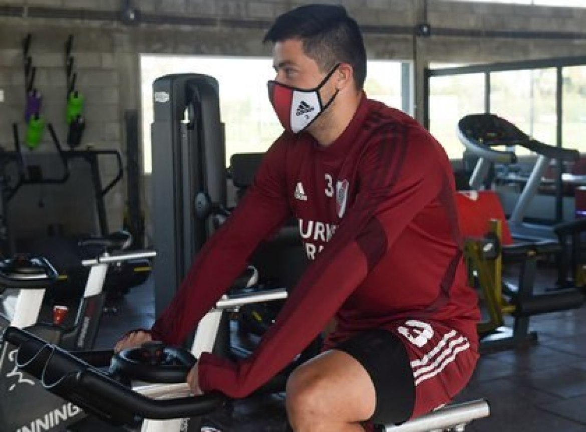 Jorge Moreira could have his great chance against the injuries of Casco and Angileri (Photo: NA)