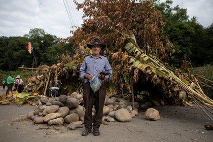 Un agricultor de la población de Chapare en Bolivia