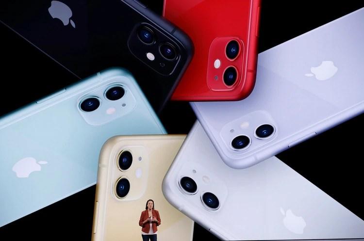 Kaiann Drance, directora senior de marketing del iPhone, brindó detalles sobre el nuevo smartphone de Apple (REUTERS/Stephen Lam)