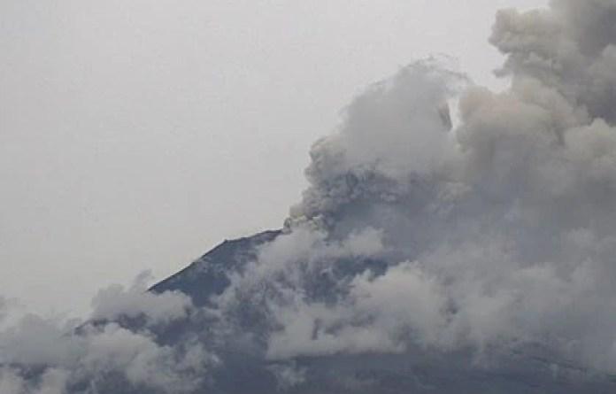Imagen del Popocatépetl el 27 de julio (Foto: CENAPRED)