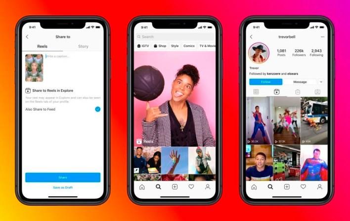 Reels está integrado a Instagram, no se requiere bajar otra app (EFE/Facebook)