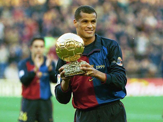 El jugador brasileño Rivaldo ganó el Balón de Oro en 1999