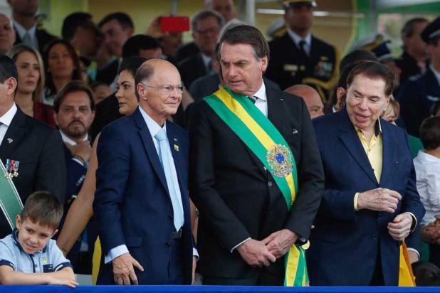 Iglesia Universal del reino de Dios - Macedo con Bolsonaro presidente