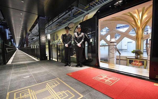 El ingreso al Shiki-Shima ya demuestra la pretensión del lujo y la distinción