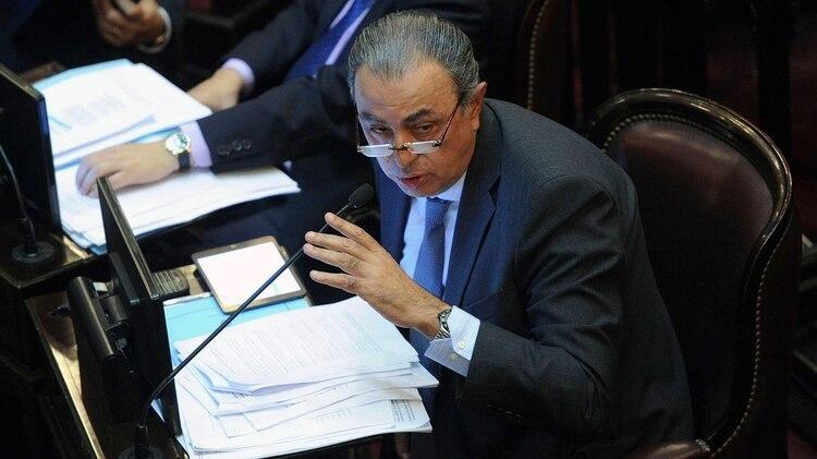 Senador Rodolfo Urtubey (PJ), presidente de la Comisión de Acuerdos (Télam)