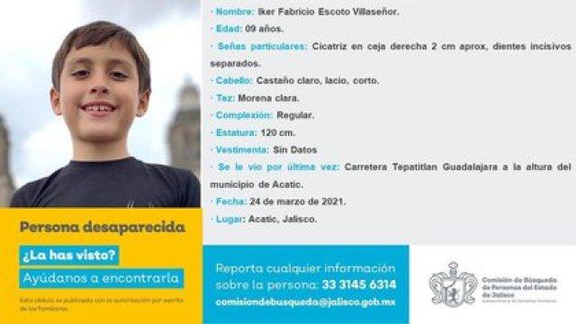 La familia pudo ser localizada con vida (Foto: Comisión de Búsqueda de Personas del Estado de Jalisco)