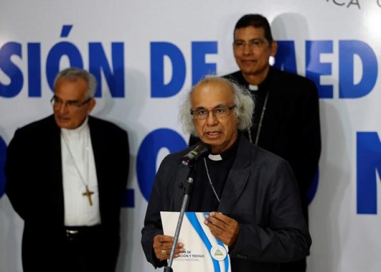 La Iglesia también ha sido blanco de la represión del régimen(REUTERS/Oswaldo Rivas)