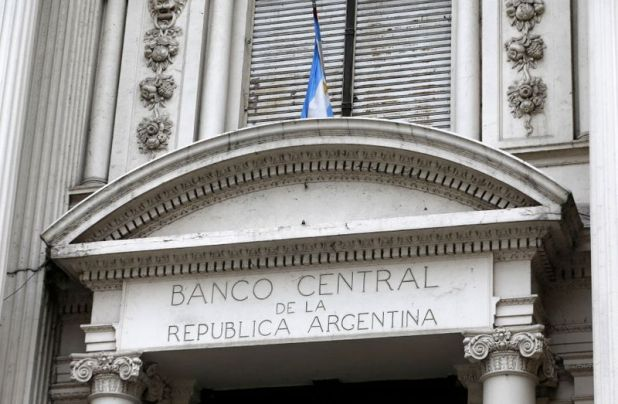 Fachada del Banco Central de Argentina en Buenos Aires REUTERS
