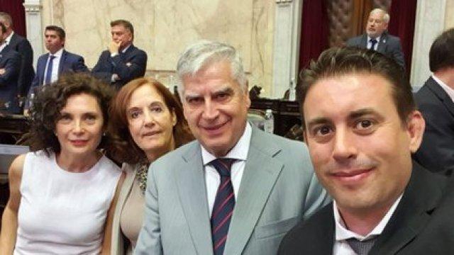 Alejandra Vigo, Claudia Márquez, Carlos Gutiérrez y Pablo Cassinerio, los cuatro diputados cordobeses que responden al gobernador Juan Schiaretti.