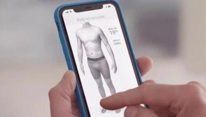 Halo incluye una función para evaluar el índice de grasa corporal