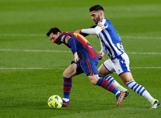 Barcelona y Real Sociedad disputan la primera semifinal de la Supercopa de España (Reuters)