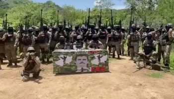 """The CJNG, led by """"El Mencho"""", is credited with the responsibility of two massacres in the state of Veracruz (Photo: Screenshot)"""