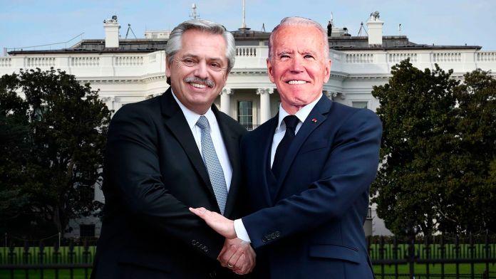 Alberto Fernandez - Joe Biden