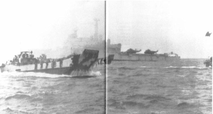 El subteniente Reyes, en su repliegue táctico, dijo haber divisado al menos 17 buques británicos en las inmediaciones de la boca norte del estrecho de San Carlos