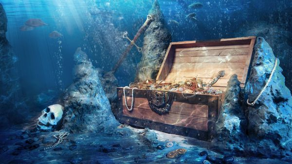Dinero, joyas y todo tipo de valores preciados se preservan ocultos (iStock)
