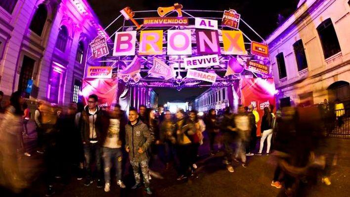 Entrada al Bronx en uno de los eventos culturales realizados el bario en 2018.