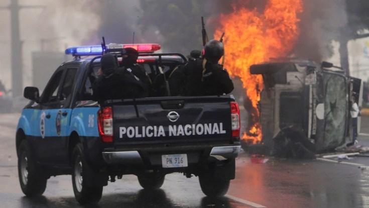 El régimen de Daniel Ortega reprimió a los manifestantes en los últimos meses (AFP)