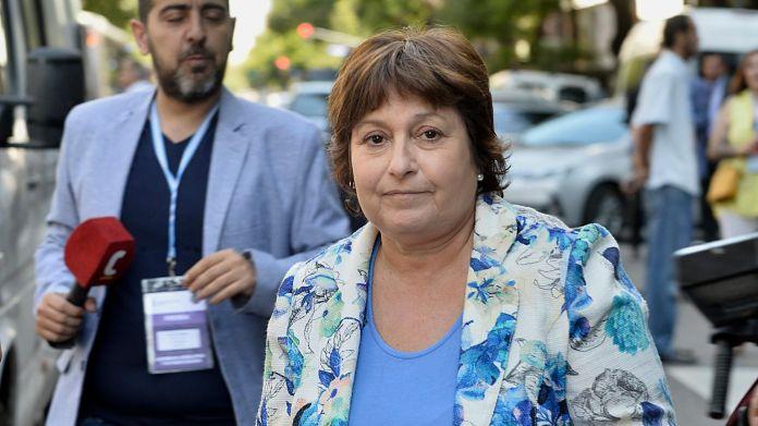 La diputada Graciela Ocaña, de Confianza Pública