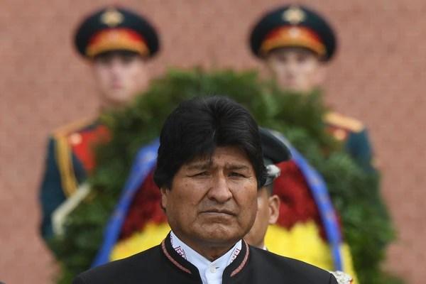 Evo Morales se ha mostrado reticente a condenar las acciones de la dictadura de Maduro (foto de archivo: AFP)
