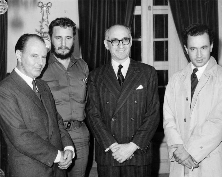 Fidel Castro en Argentina