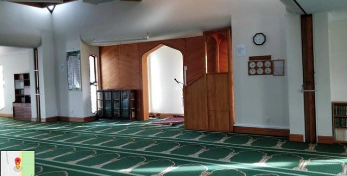 El interior de la mezquita Masjid Al Noor (Muhammad Hafiz/ Google maps)