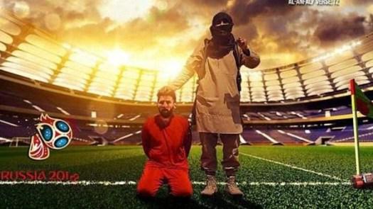 Lionel Messi es el protagonista de las amenazas del ISIS al Mundial 2018.