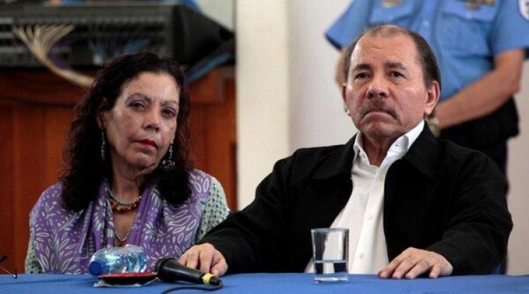 La población exige la renuncia de Daniel Ortega, y su esposa, la vicepresidente Rosario Murillo (REUTERS/Oswaldo Rivas)