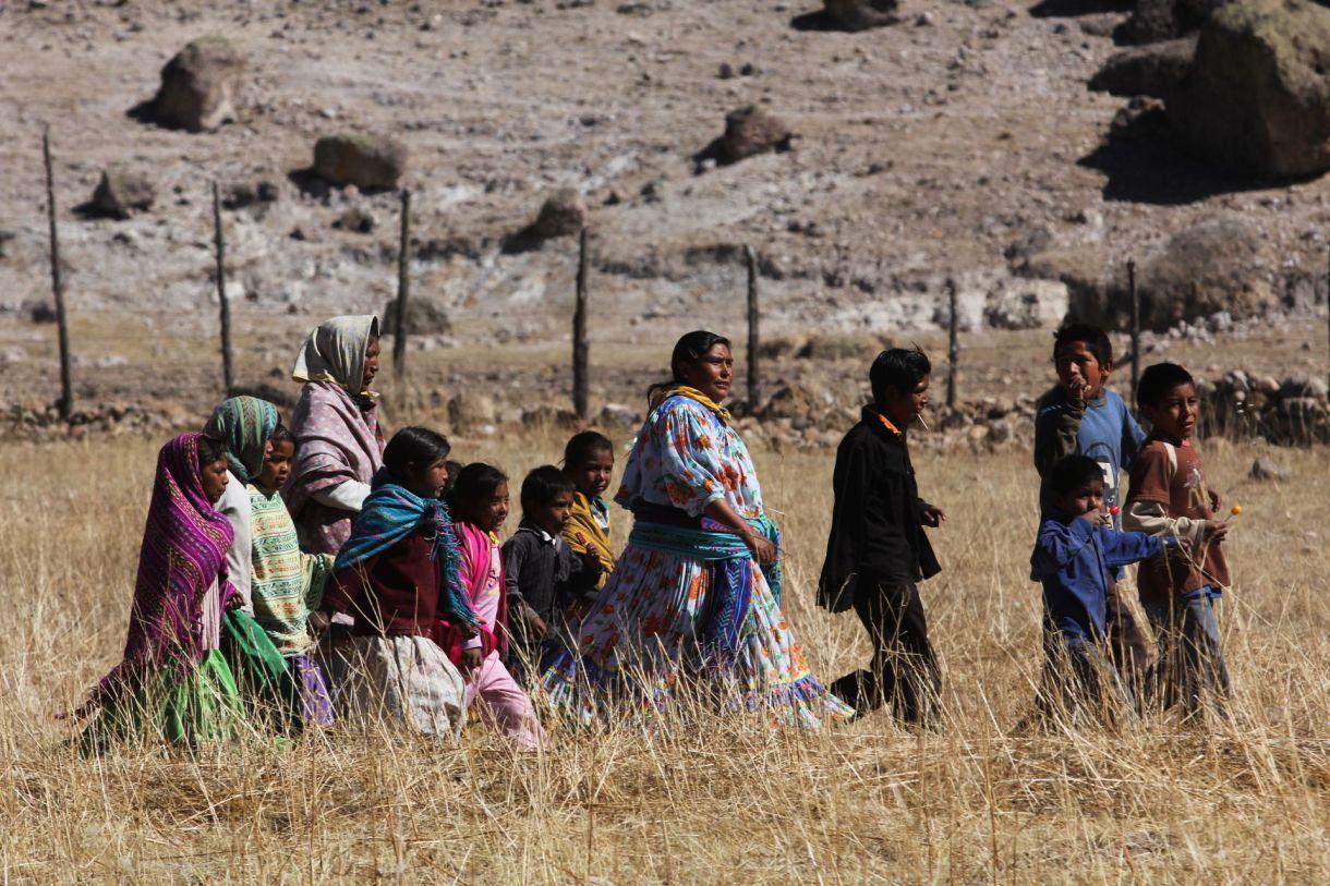 La tarahumara se está muriendo de hambre, reclaman sus habitantes (Foto: Cuartoscuro)