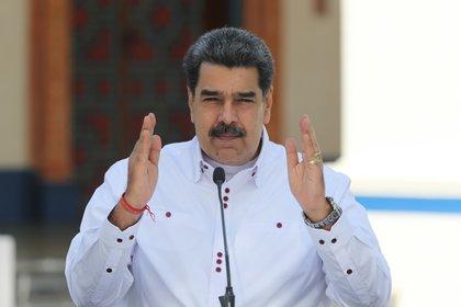 Nicolás Maduro. EFE/Prensa Miraflores/Archivo