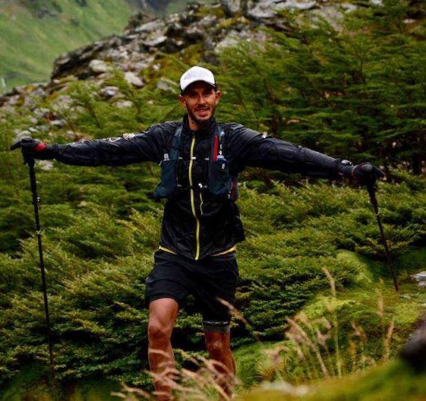 Maxi López ganó en los 50k de la Ushuaia Trail Race. Foto: Facundo Borthiry