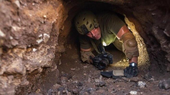 Los equipos de detección de túneles de Estados Unidos.