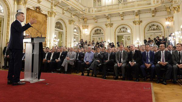 Mauricio Macri presentó el plan aerocomercial, sin referirse a Avianca