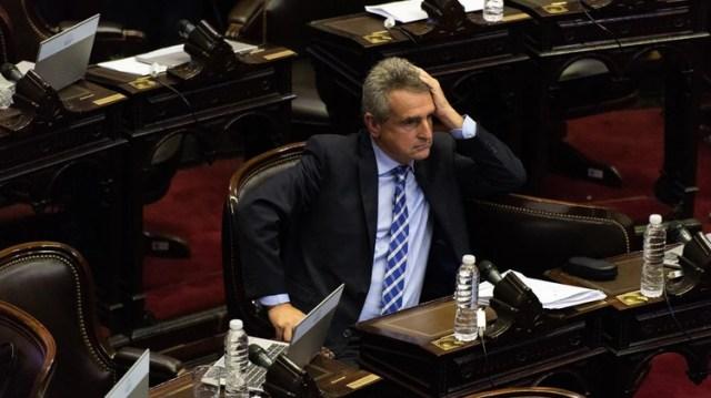 Agustín Rossi dejará la Cámara de Diputados para ocupar el Ministerio de Defensa (Adrián Escandar)
