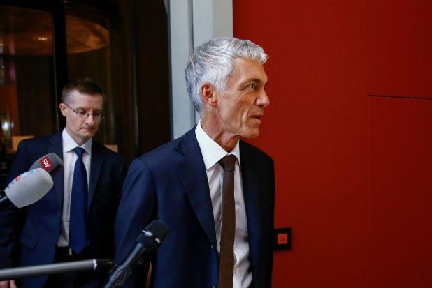 El fiscal general Michael Lauber quedó en el centro de la investigación (Foto: Reuters)