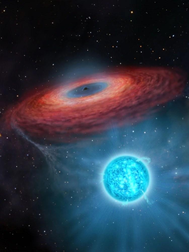 El Gran Telescopio Canarias, situado en la isla española de La Palma, fue uno de los encargados de estudiar el agujero negro ubicado a 15 000 años luz de la Tierra para establecer sus características