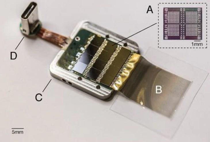 El sensor empleado para recopilar la información (Neuralink)