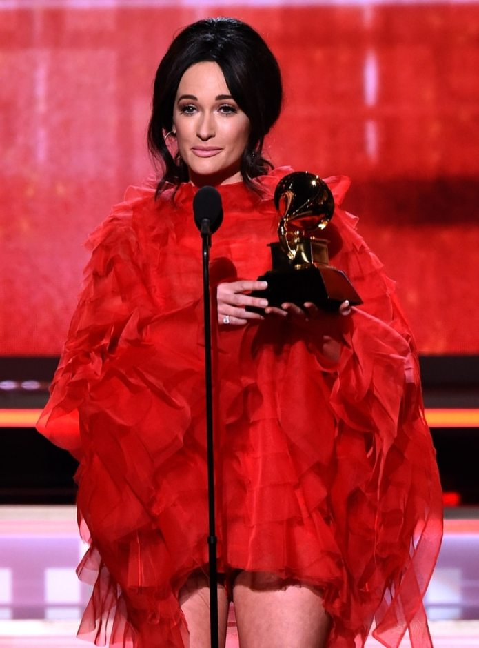 Kacey Musgraves (Kevin Winter/Getty Images para The Recording Academy/AFP)