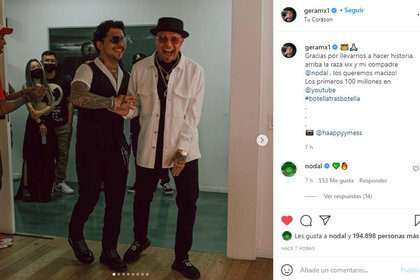 Captura de pantalla @GeraMx1 / Instagram