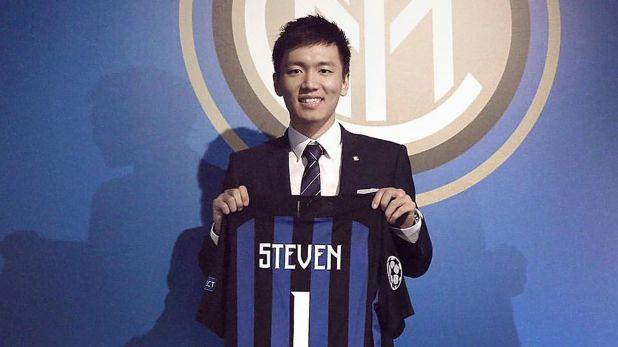 Steven Zhang, el joven presidente del Inter que sueña con contratar a Lionel Messi (@stevenzhang91)