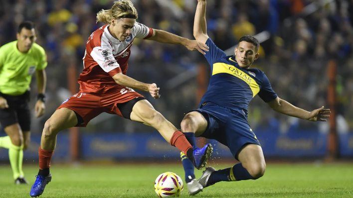 Iván Marcone fue apuntado por Independiente pero en Boca prefieren retenerlo (Télam)