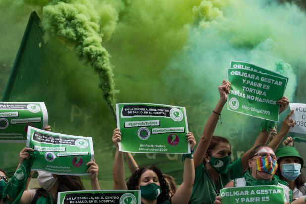 El aborto es legal en la Argentina: el Senado sancionó la ley con una votación menos ajustada a lo esperado /Europa Press/