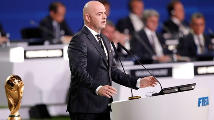 Gianni Infantino(Reuters)
