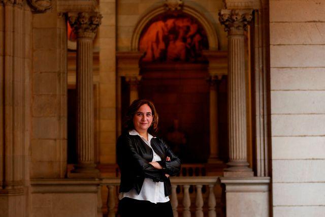 La alcaldesa de Barcelona, Ada Colau. EFE/Quique Garcia/Archivo
