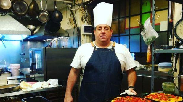 Ariel Paoletti, el cocinero de Alberto