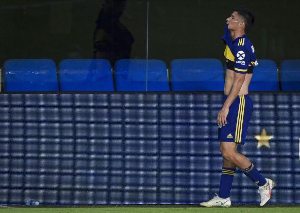 Jorman Campuzano sufrió una lesión muscular en el Superclásico ante River (REUTERS/Marcelo Endelli)