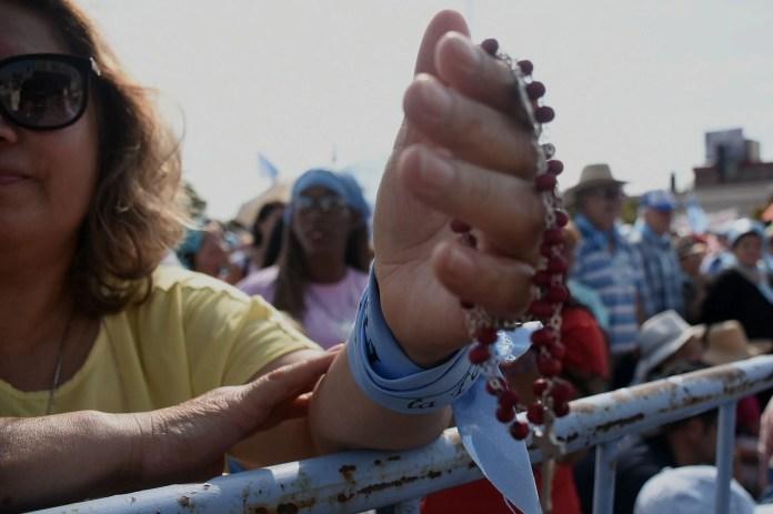 La Iglesia Católica se volvió a manifestar en contra del derecho al aborto. (Nicolás Stulberg)