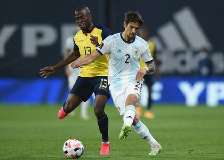Lucas Martínez Quarta is one of Lionel Scaloni's permanent fixtures in the National Team (REUTERS / Marcelo Endelli)