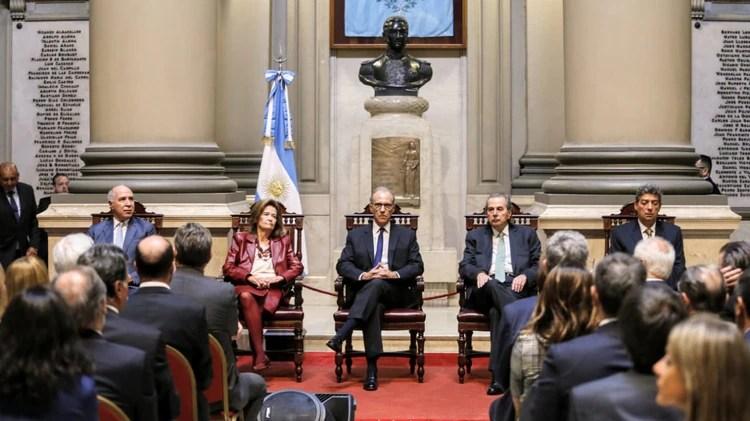 La Corte Suprema de Justicia dispondrá el inicio del juicio oral contra CFK en los próximos días (Nicolás Aboaf)