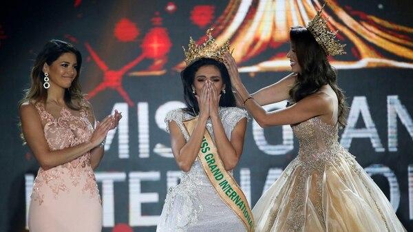La emoción de la joven paraguaya al escuchar su nombre (EFE)